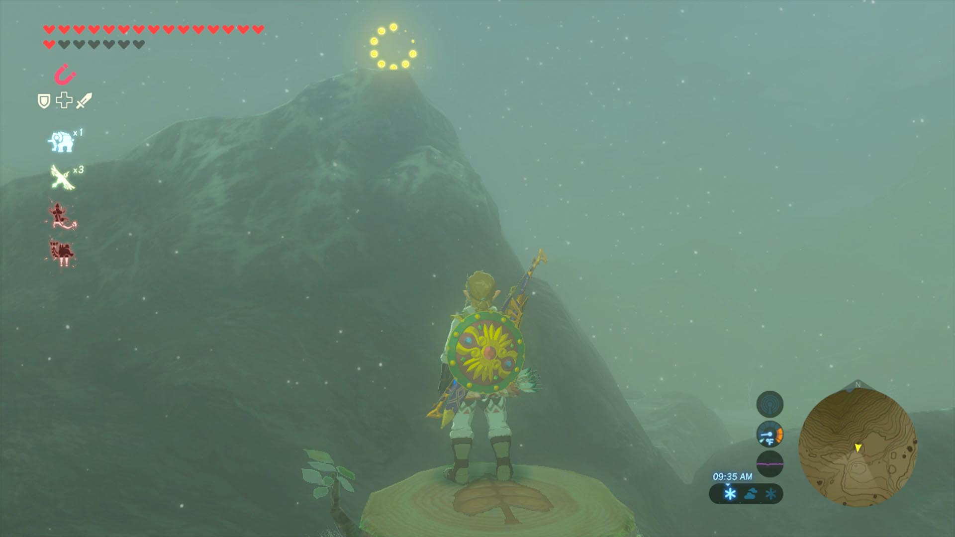 Breath Of The Wild Ring Of Plants In Water