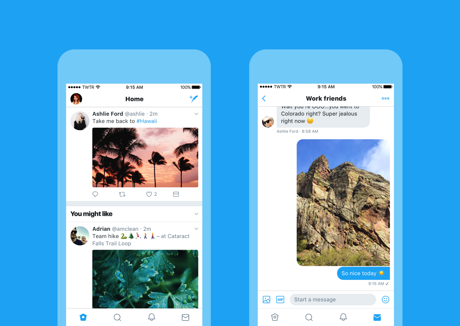 Twitter unveils new design philosophy, streamlines iOS app to resemble Android