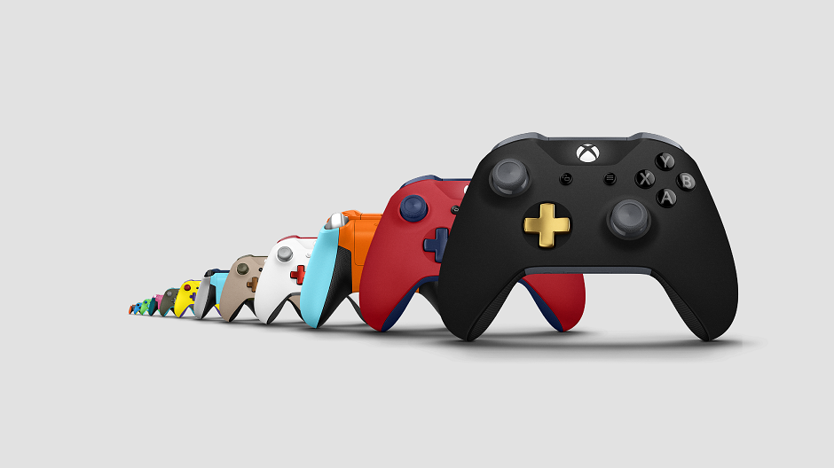 Custom Xbox Controllers Get Metallic Triggers D Pad And