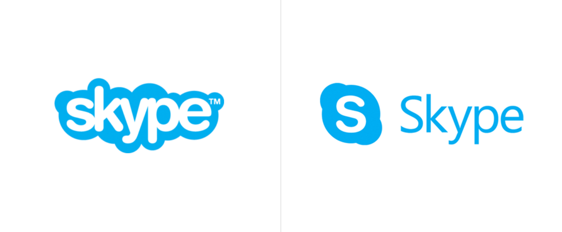 Microsoft S New Skype Logo Ditches The Iconic Clouds The