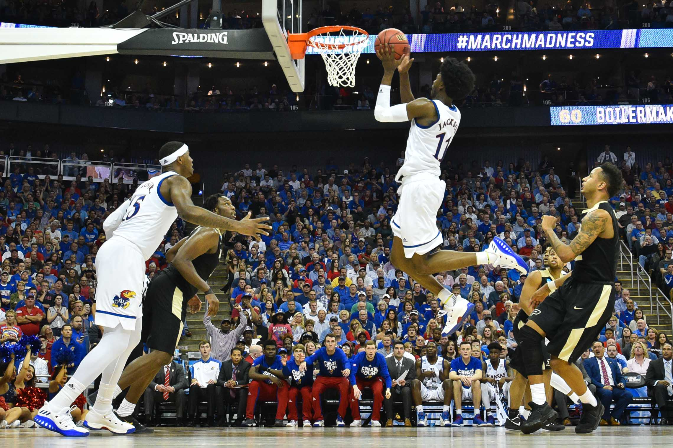 NCAA Basketball: NCAA Tournament-Midwest Regional-Purdue vs Kansas
