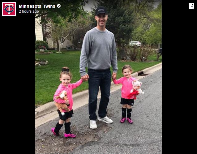 Joe Mauer Twin Daughters