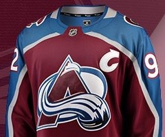 online store bb3f9 0549b colorado avalanche jersey adidas