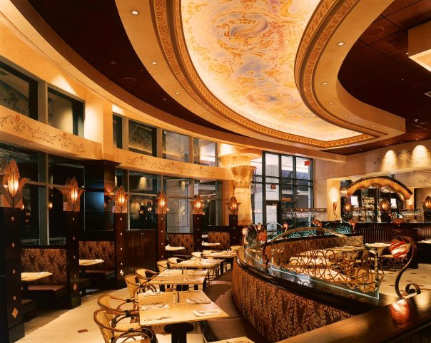 Cheesecake factory interiors are weird and wonderful all