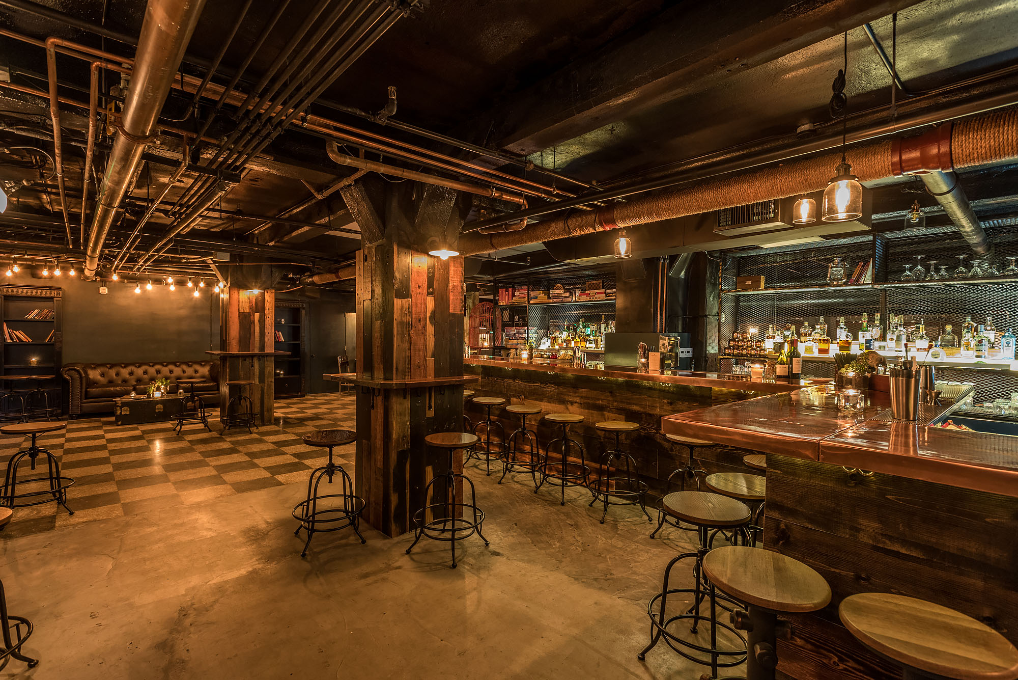 Downtown La S New Basement Bar Is A World War Ii Era Party