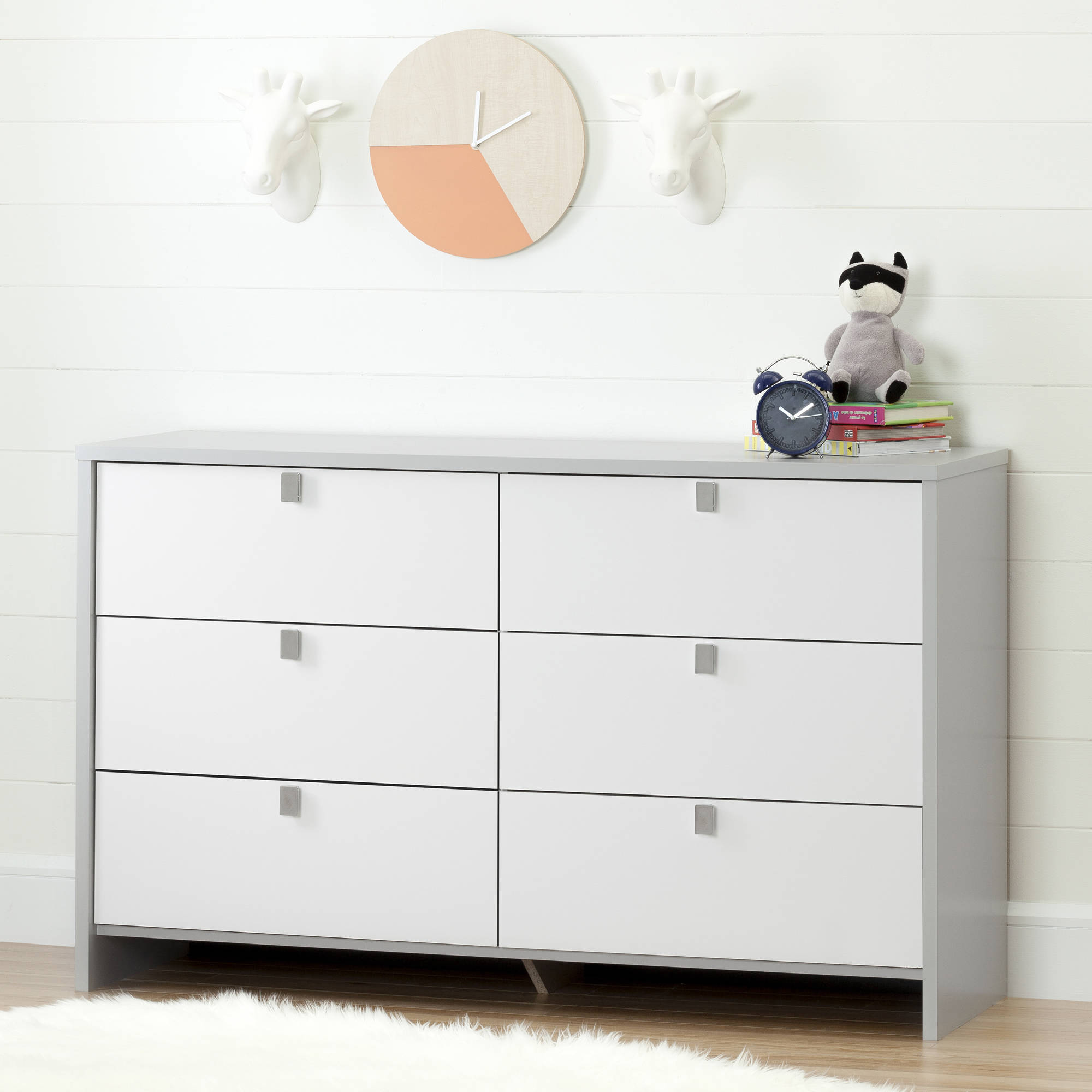 South Shore Cookie 6 Drawer Double Dresser   177 91  Walmart. Ikea Malm dresser alternatives  7 fab styles to shop now   Curbed