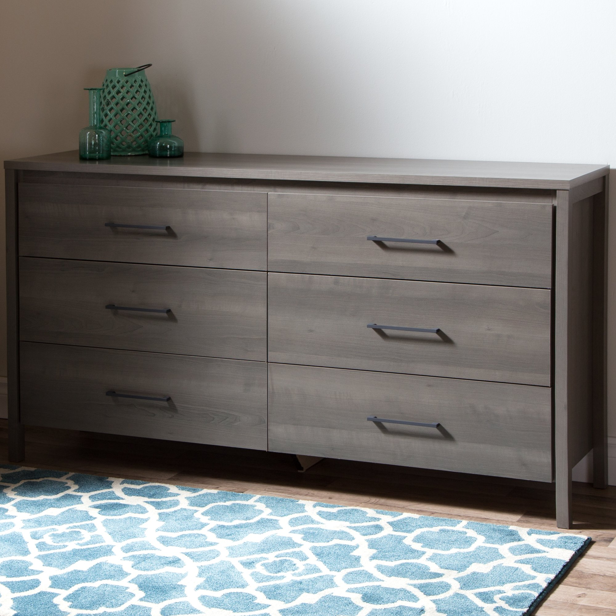 Gravity 6 Drawer Double Dresser  287 99  AllModern. Ikea Malm dresser alternatives  7 fab styles to shop now   Curbed