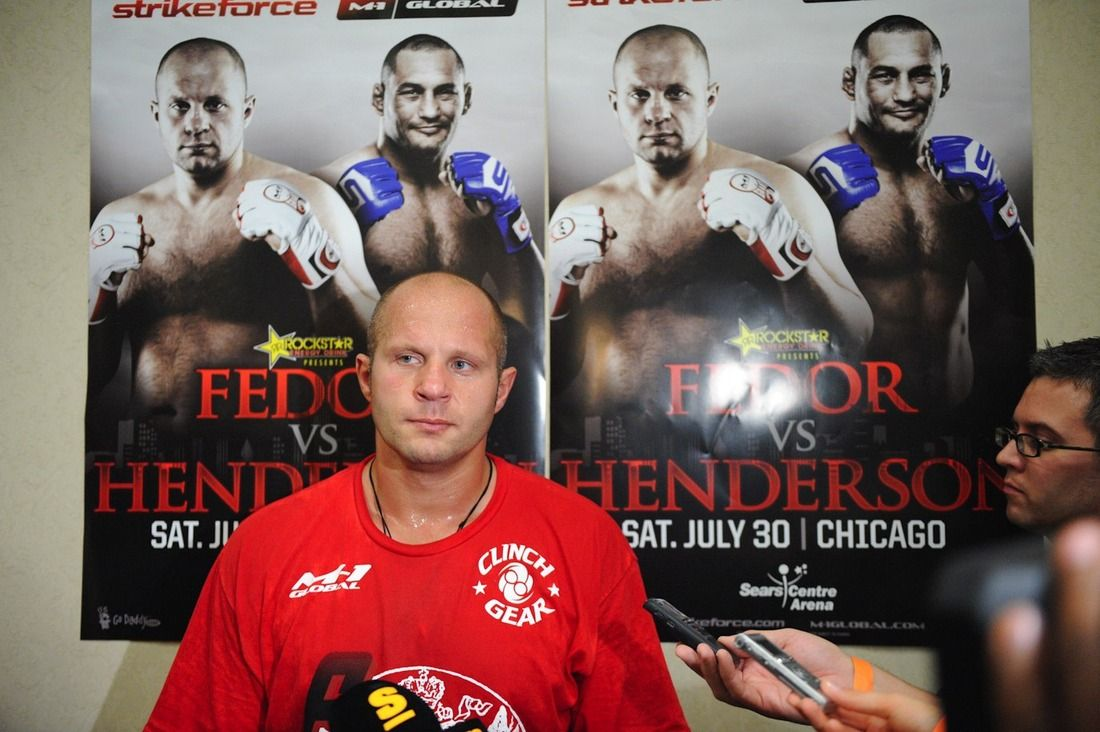 fedor in america a look back at the last emperor u0027s stateside