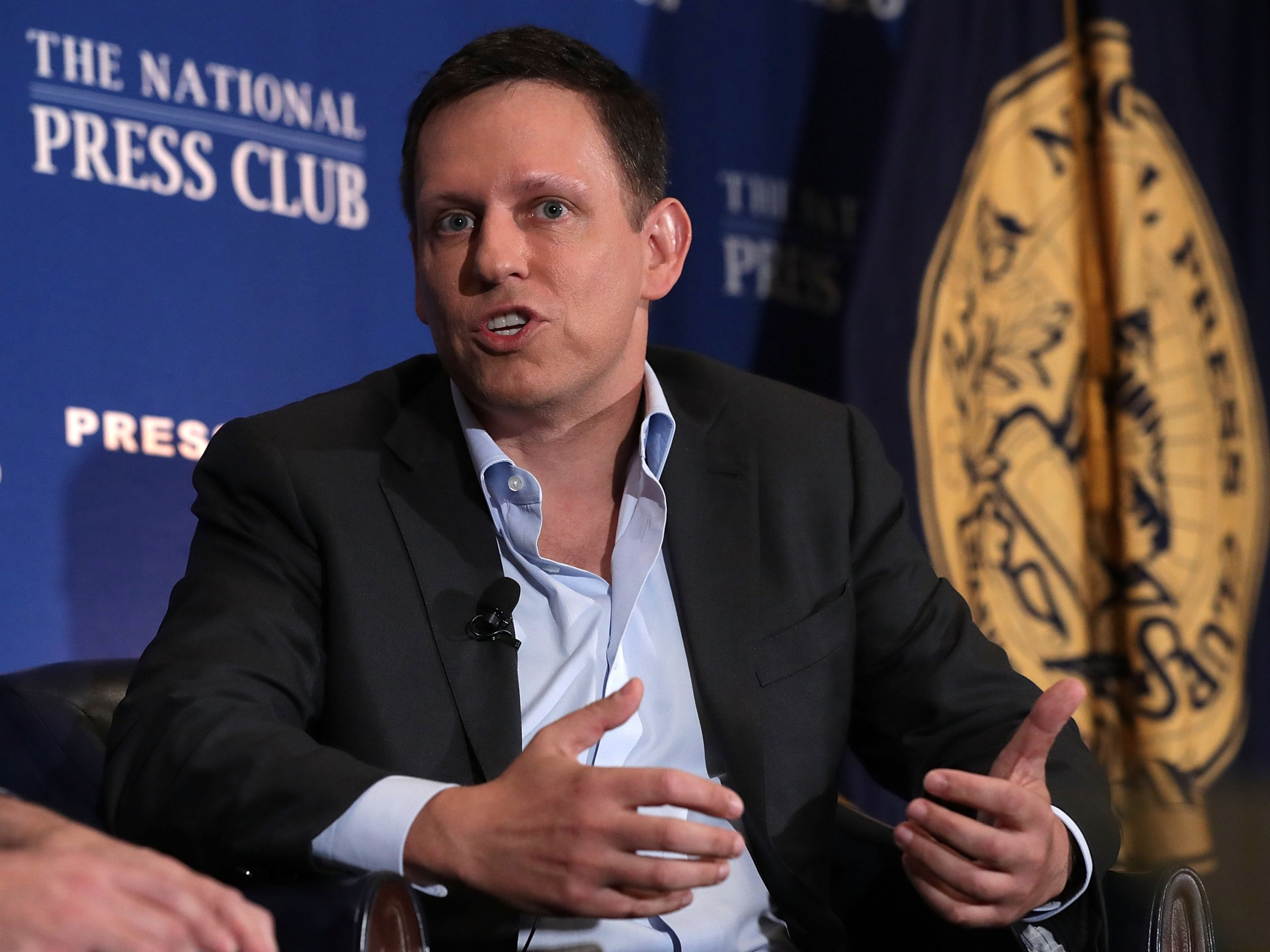 Tech mogul Peter Thiel, who bankrolled the case against Gawker even though he wasn't personally involved.