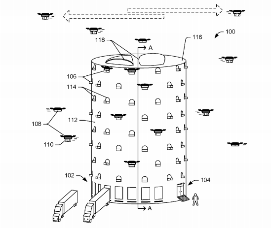 Amazon Visualize Human Future, As Sky Buzzes With Autonomous Drones