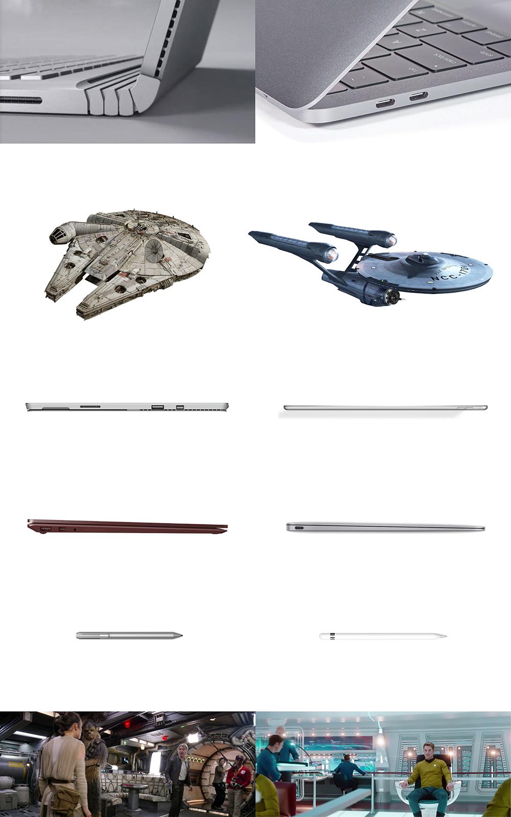 Microsoft is Star Wars, Apple is Star Trek