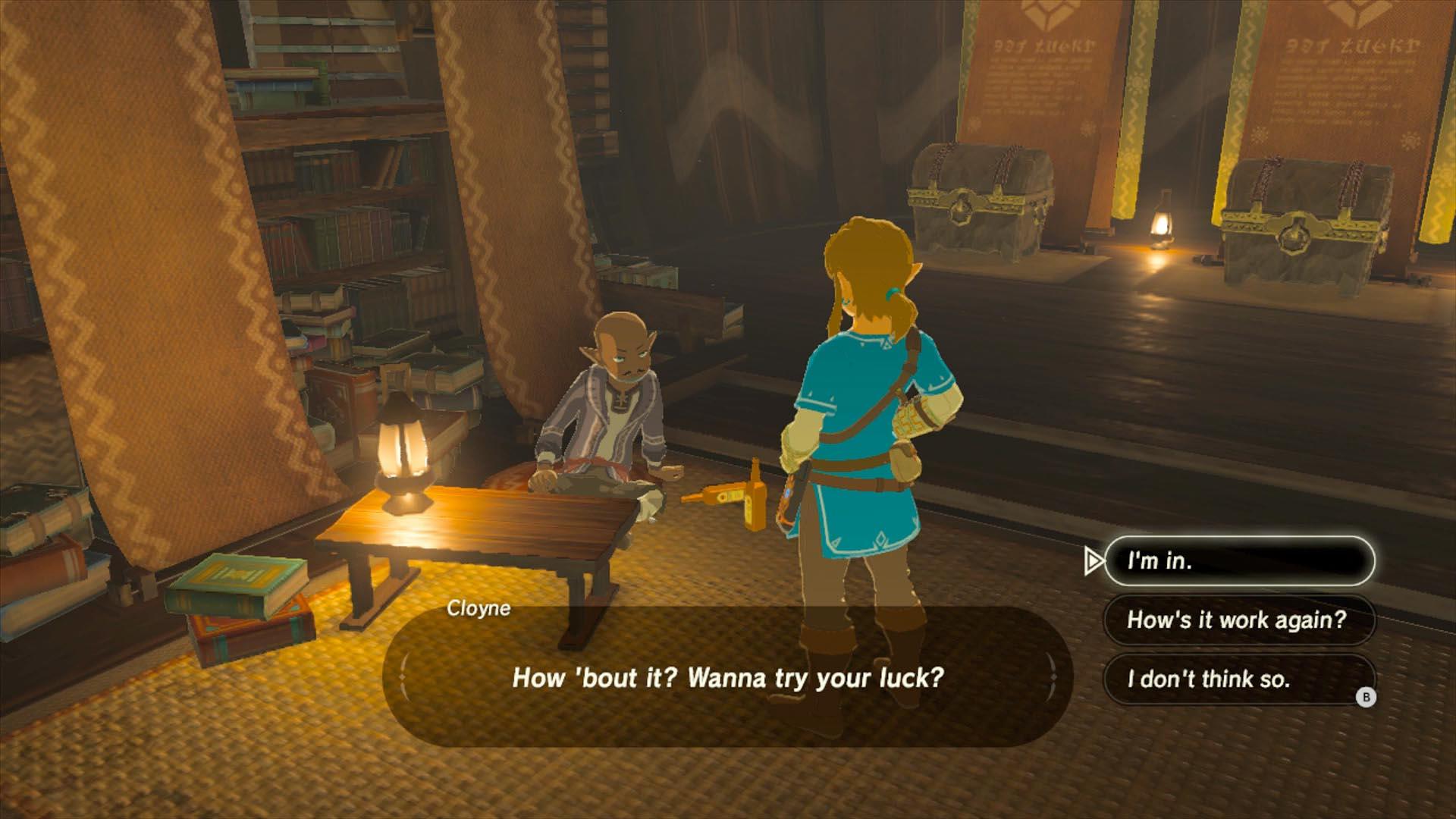 Zelda gambling den in roulette is 0 even