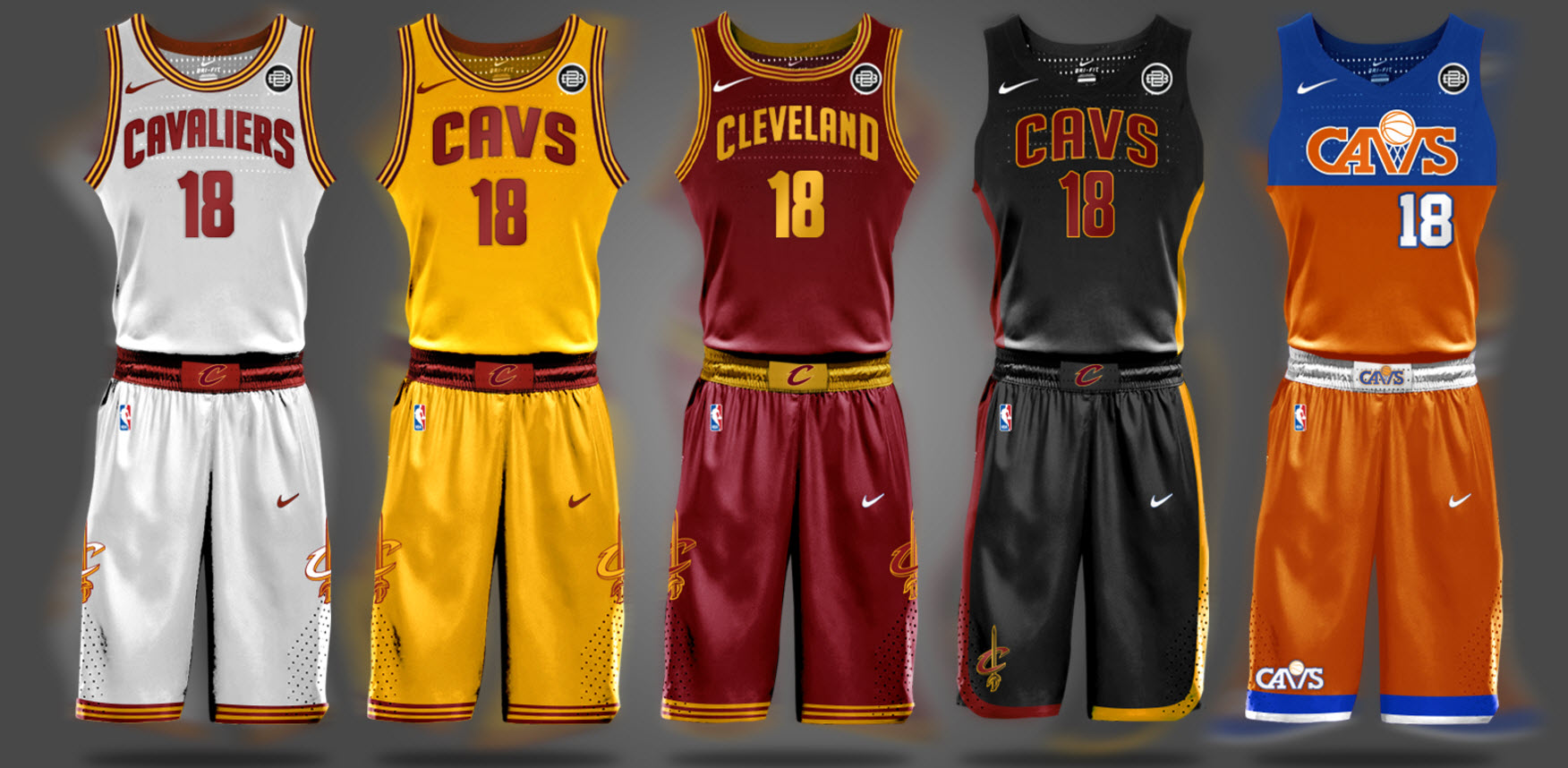 Cavs >> Look Here S One Potential Design For The Cavaliers New Jerseys