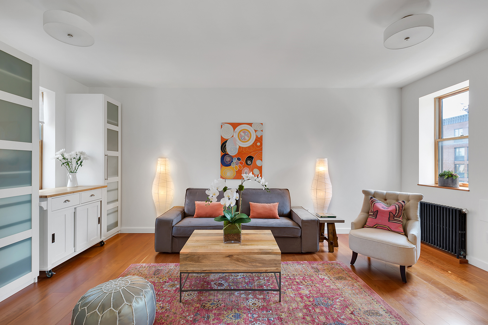 stylish chelsea duplex with expansive private terrace asks $1.6m