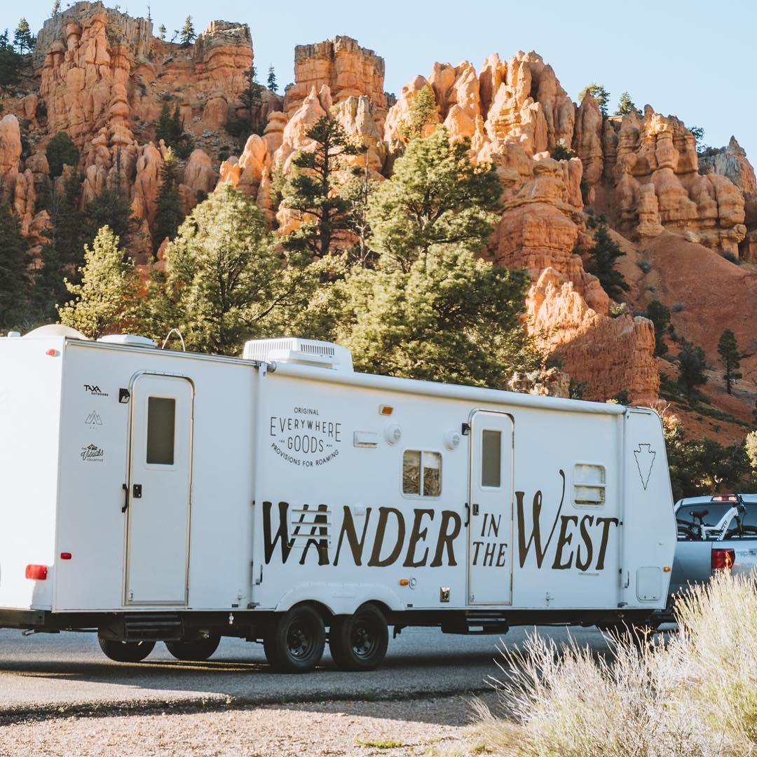 Renovated Camper Trailer Takes Designer Home Goods On A