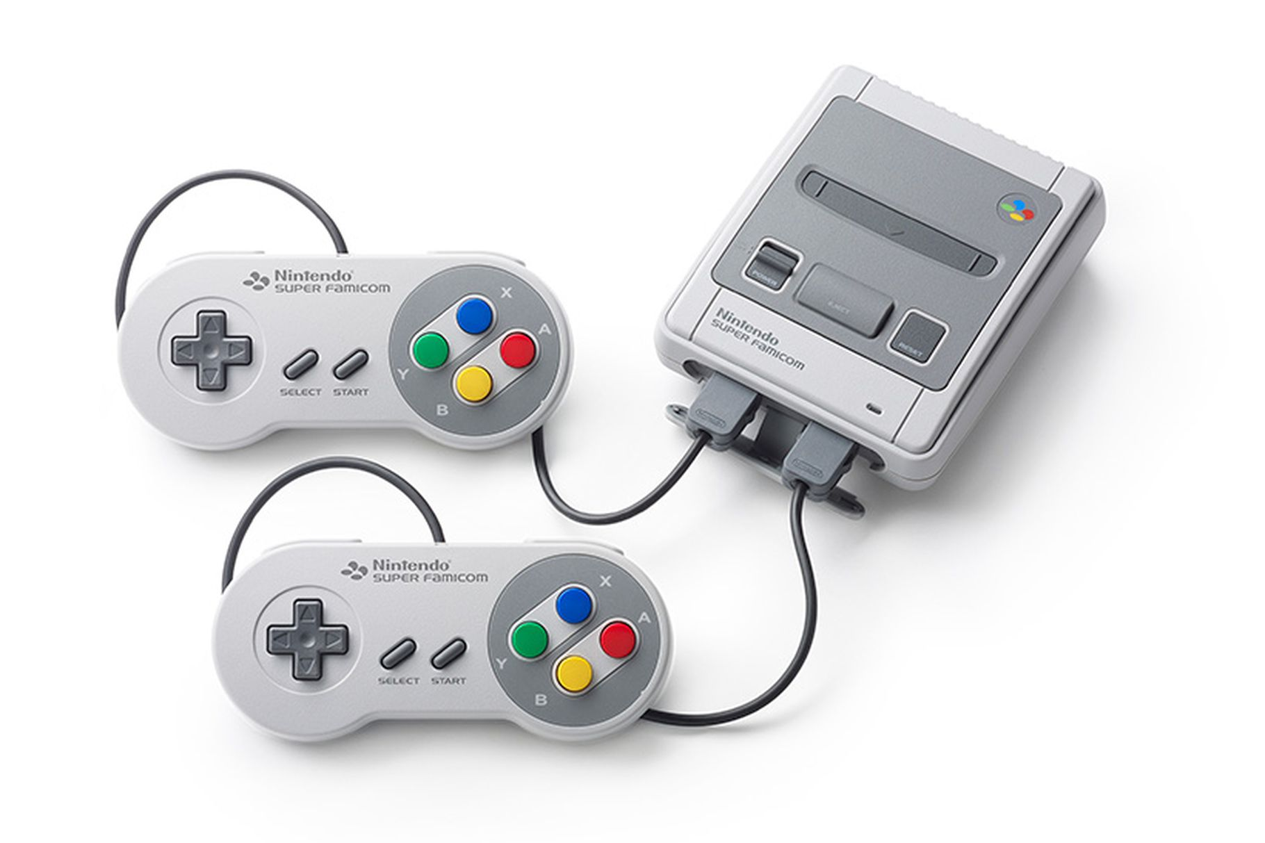 nintendo announces mini super famicom for japan the verge. Black Bedroom Furniture Sets. Home Design Ideas