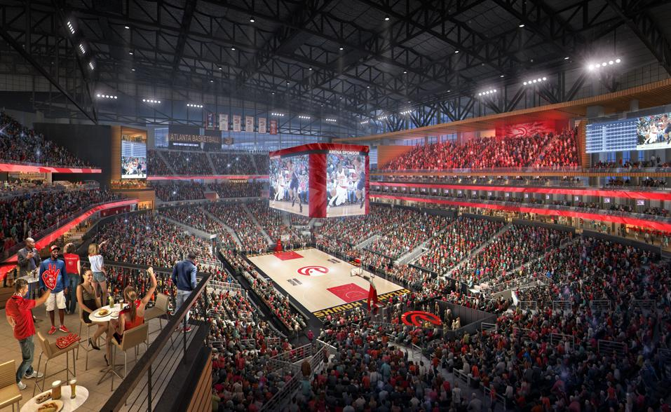 Philips Arena Overhaul Details New Visuals Revealed