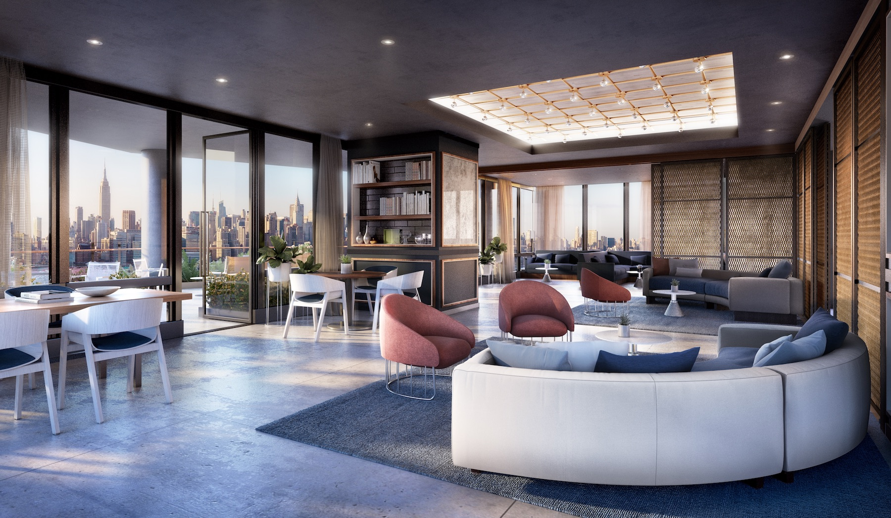 Condos in greenpoint 39 s tallest tower now up for grabs for for The terrace lounge menu