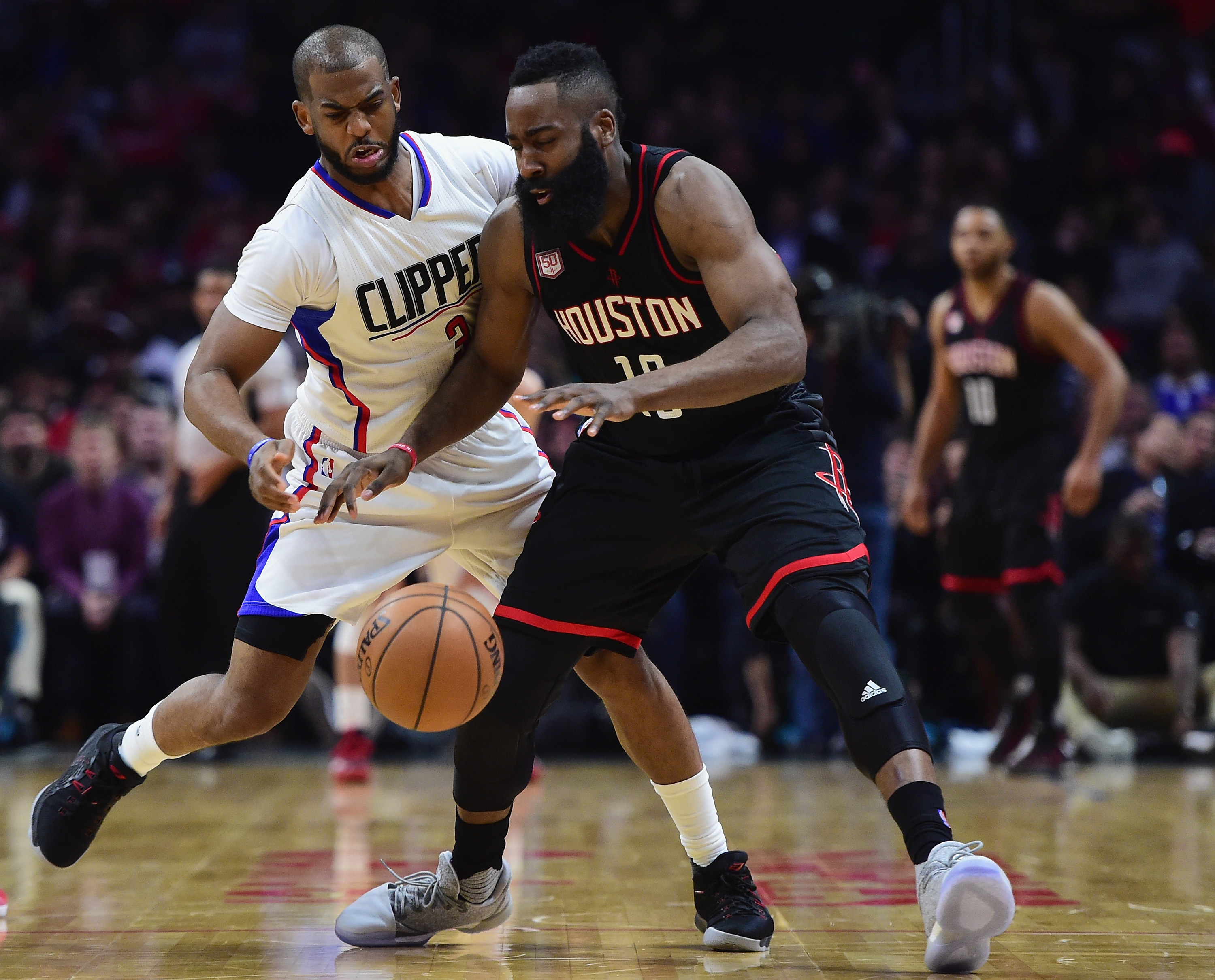 Chris Paul and James Harden on the Rockets is the mad ...