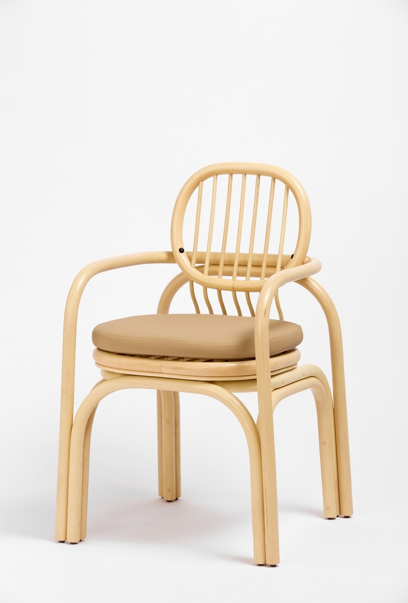 Rattan Office Chair Combines Sustainability With Good Looks   Curbed