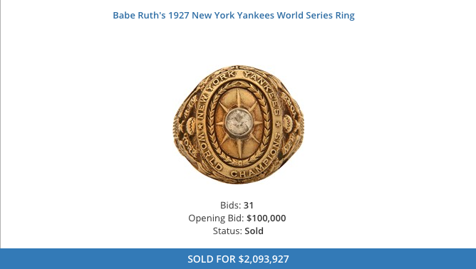 Charlie Sheen Auctions Off Two Babe Ruth Memorabilia At Nearly $4.4 Million