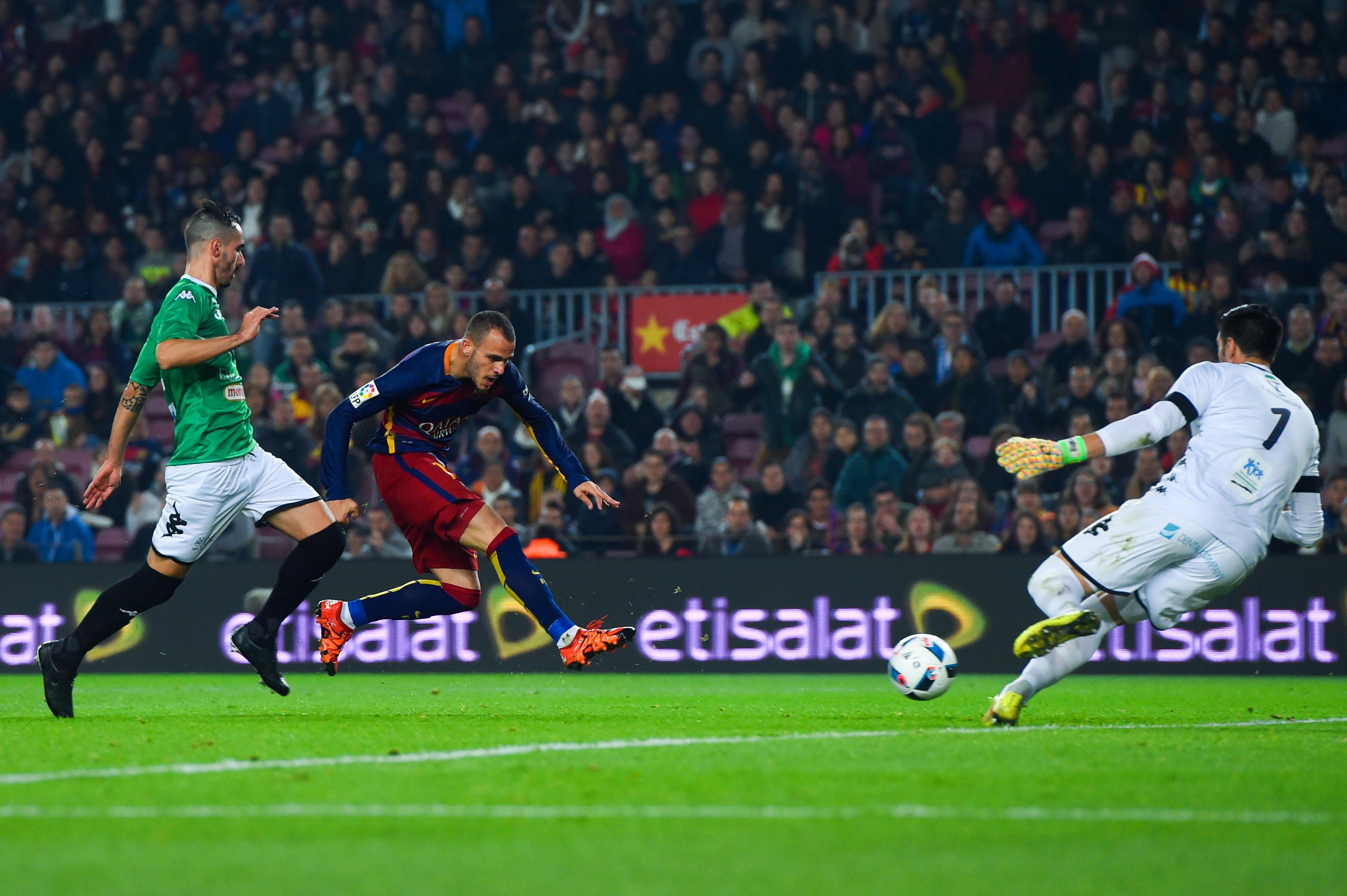FC Barcelona v Villanovense- Copa Del Rey