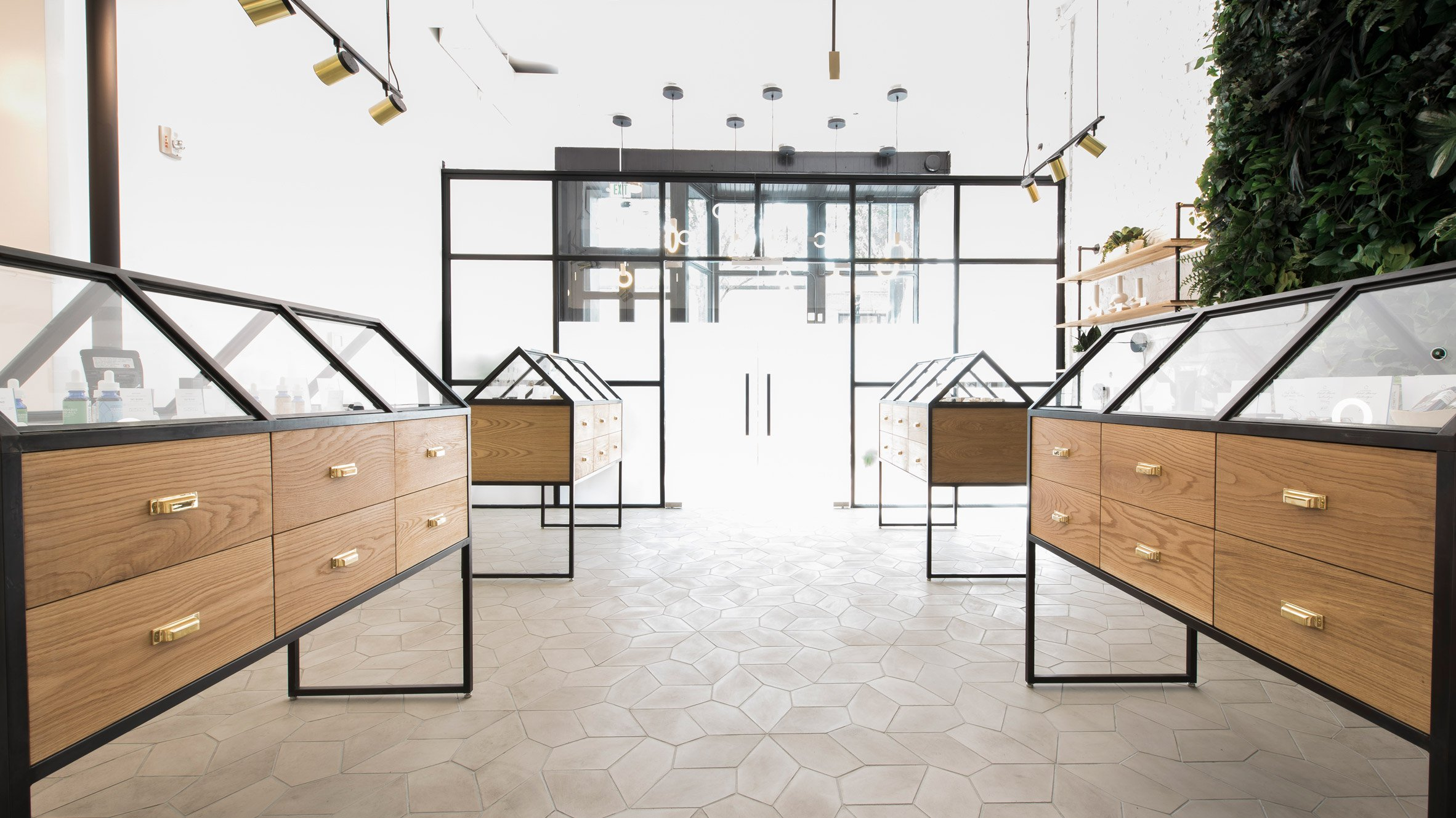 #8A6741 Marijuana Dispensary Goes Minimalist In Portland Curbed with 2364x1330 px of Most Effective Glass Display Cases Portland Oregon 13302364 wallpaper @ avoidforclosure.info
