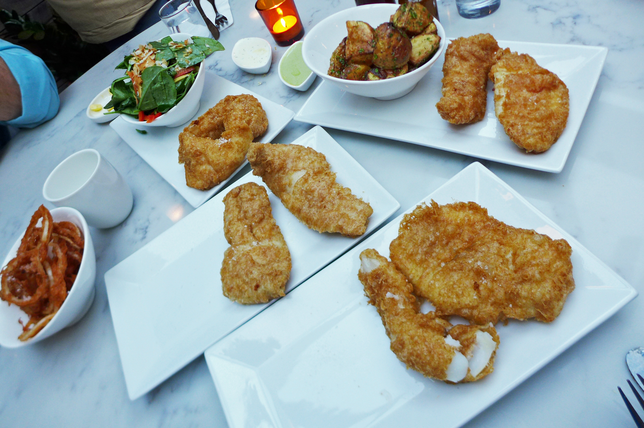 Fish no chips at icelandic fish chips eater ny for Icelandic fish and chips nyc