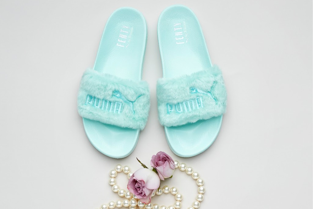 Buy puma slides fur   OFF58% Discounts 4d1144df1410