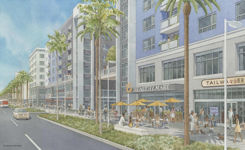 New Renderings For Baldwin Hills Crenshaw Plaza S Big Redevelopment Curbed La