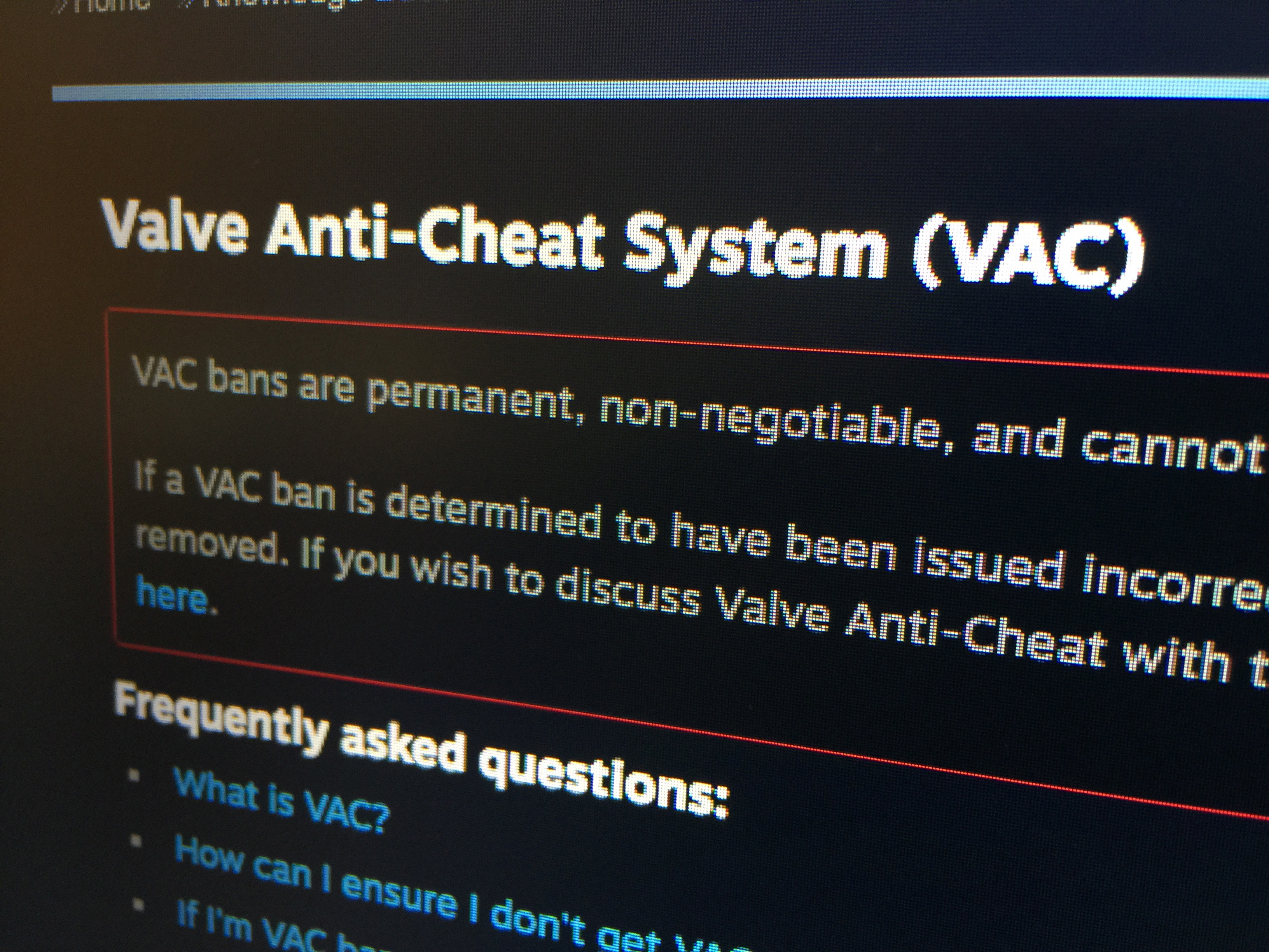 Valve banned more than 40 thousand of cheaters on Steam