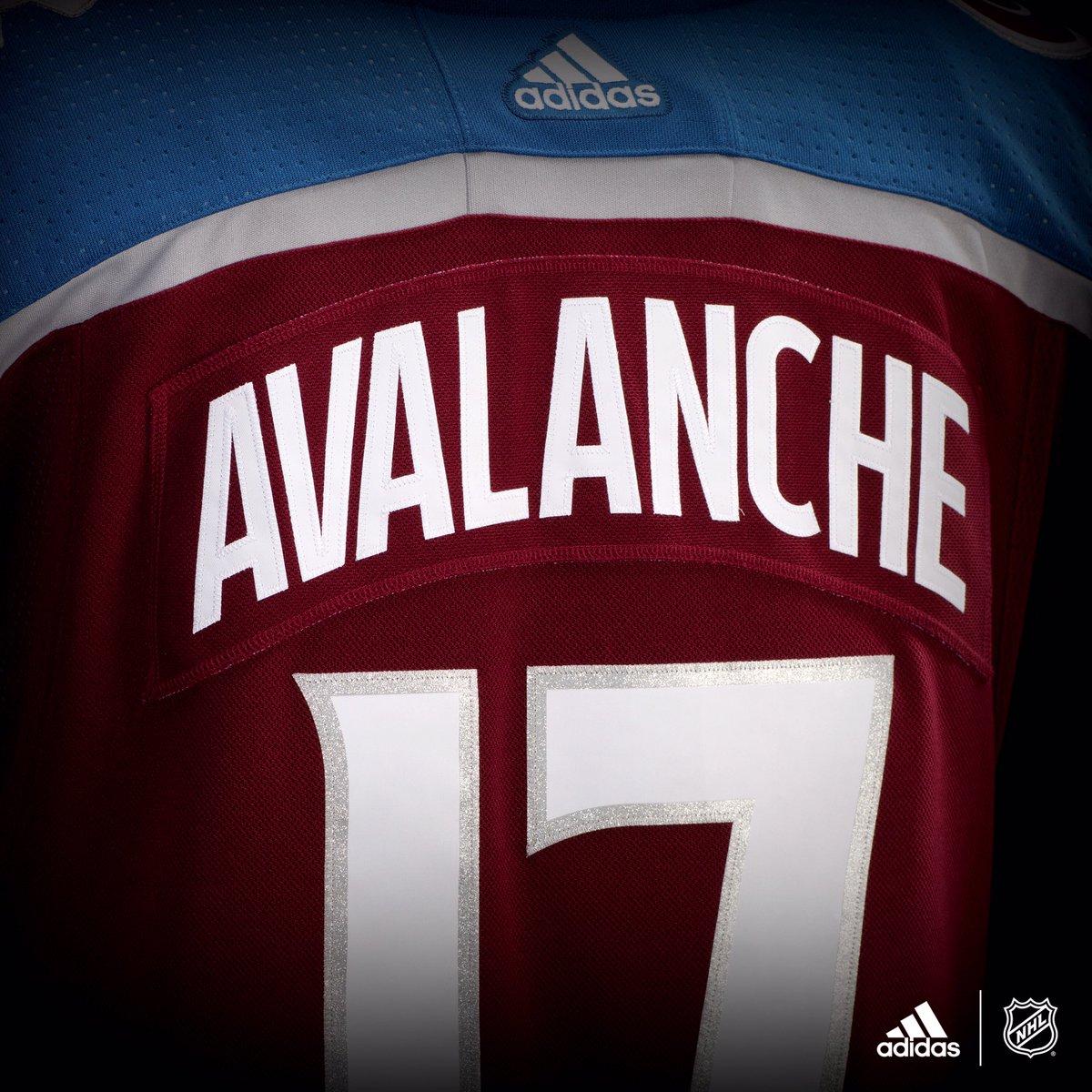 online store 79301 9f0eb colorado avalanche jersey adidas
