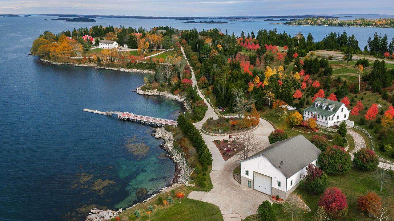 Island Off Maine For Sale