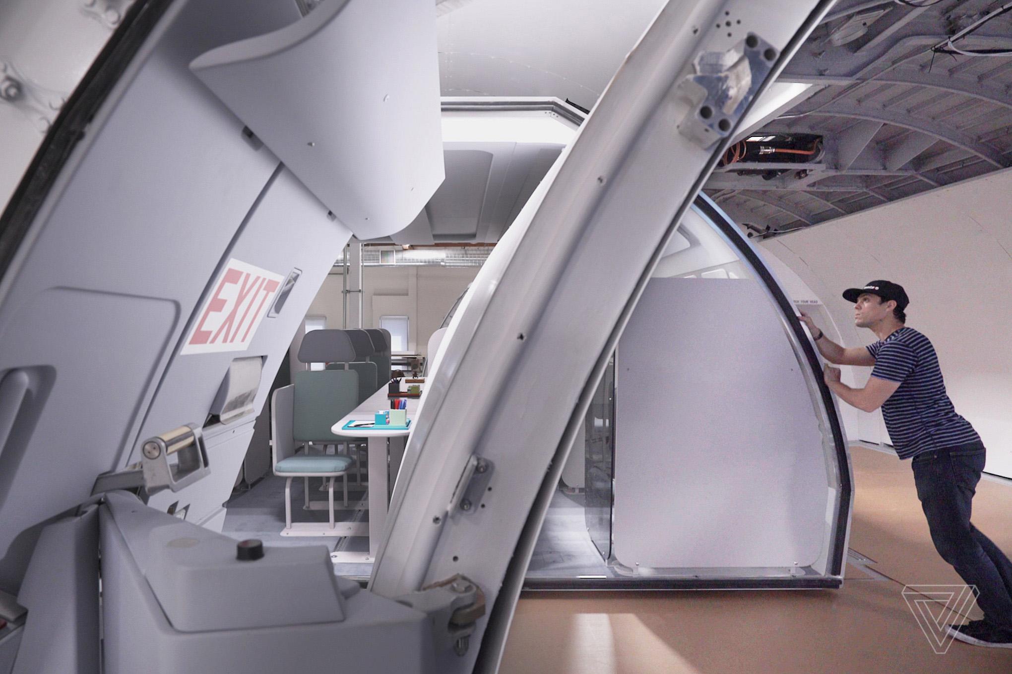 transpose modular flight plane