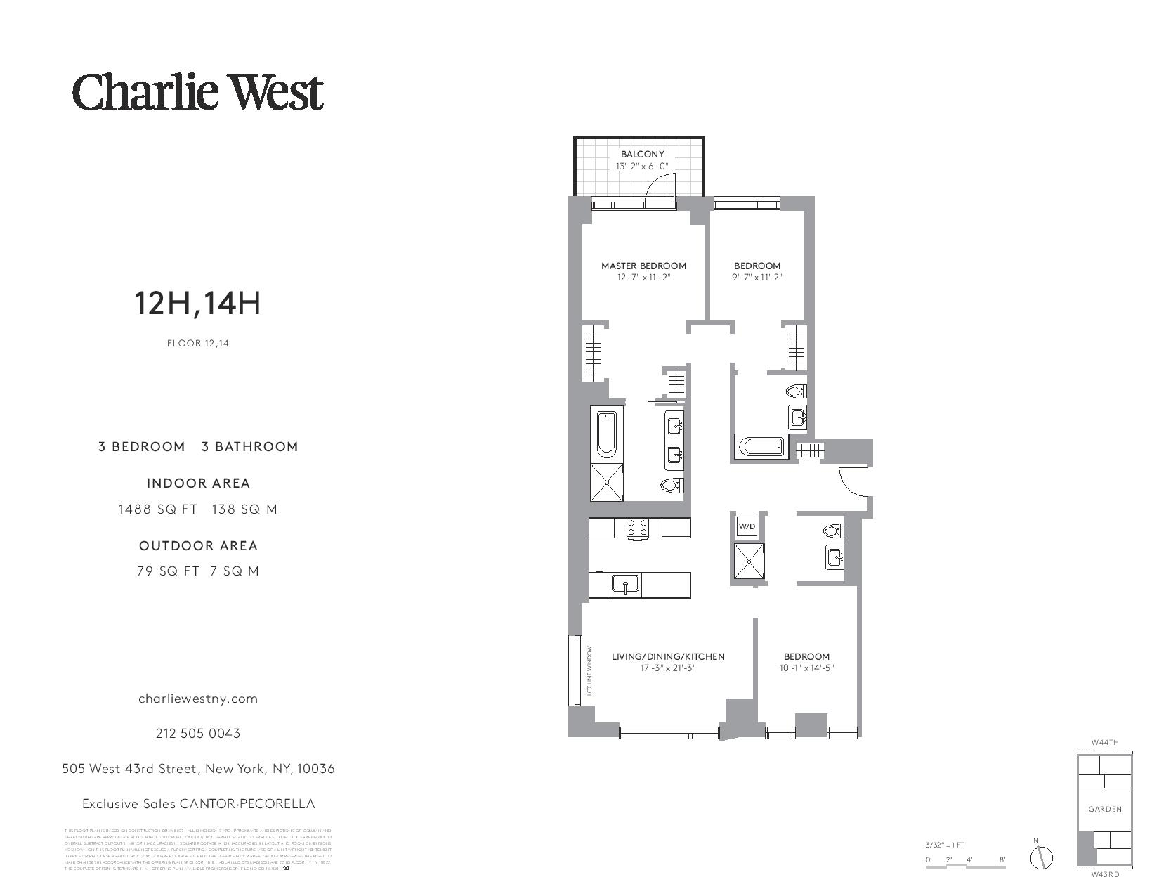 ODA New York s Hell s Kitchen condo Charlie West launches sales