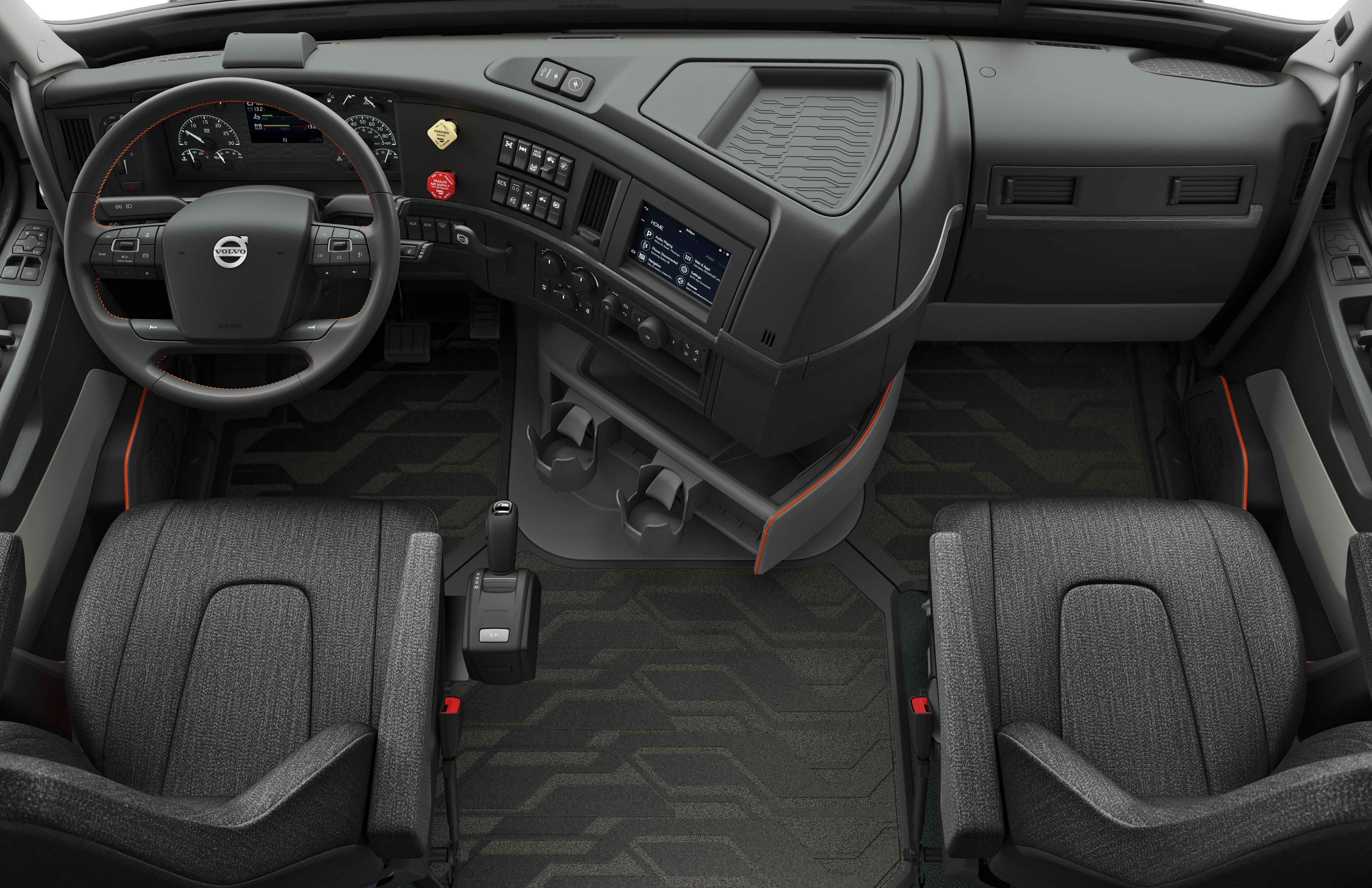 volvo trucks. indeed there are widespread fears that autonomous technology will lead to enormous displacement among truck drivers a recent study found automated volvo trucks