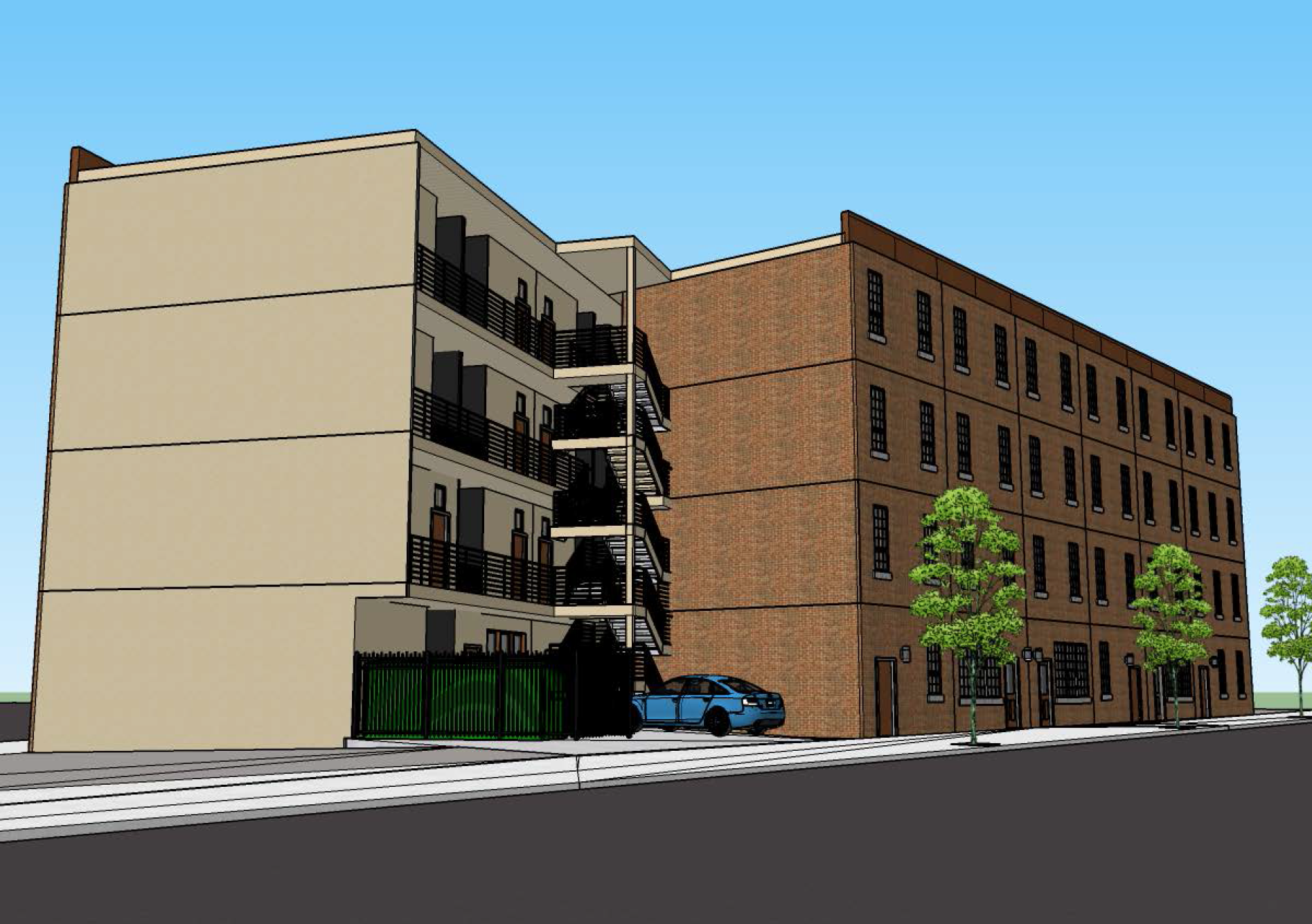 Studio Apartments Proposed For South Kensington Lot Curbed Philly