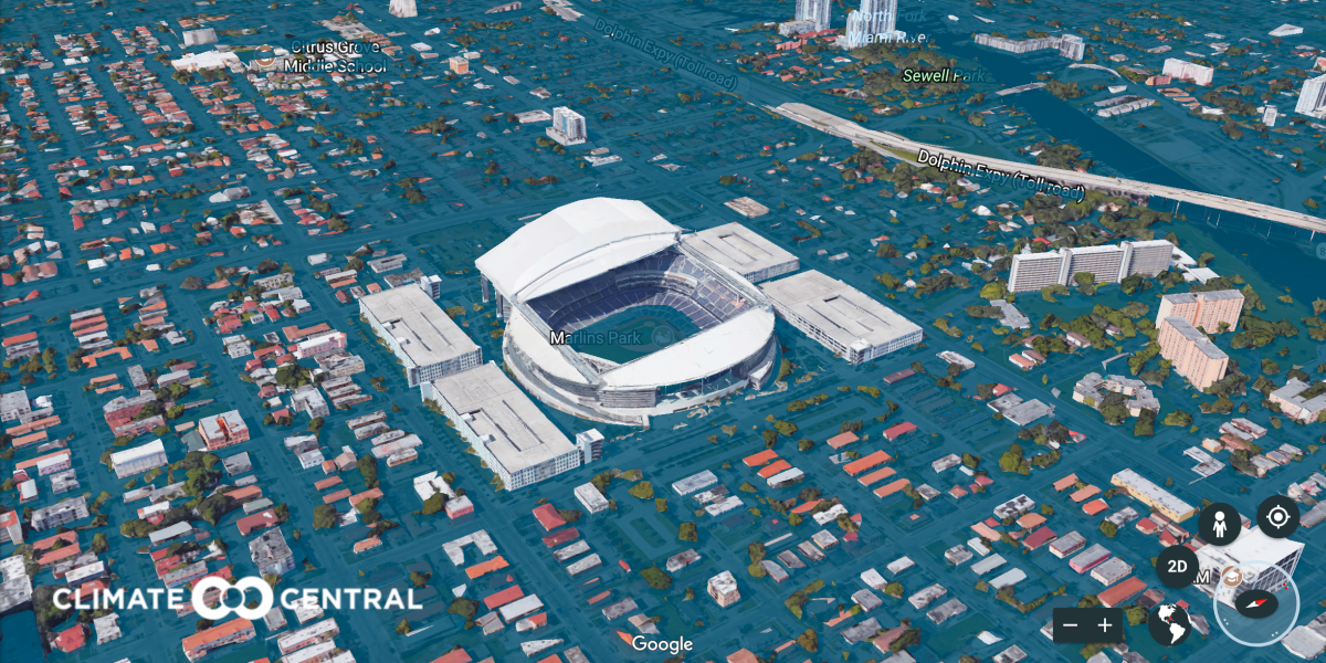 Here's what Miami could look like in 2100