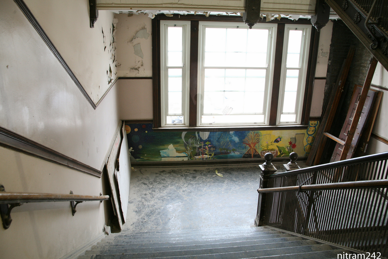 A Glimpse Inside Uptown S Old Stewart School Ahead Of Its