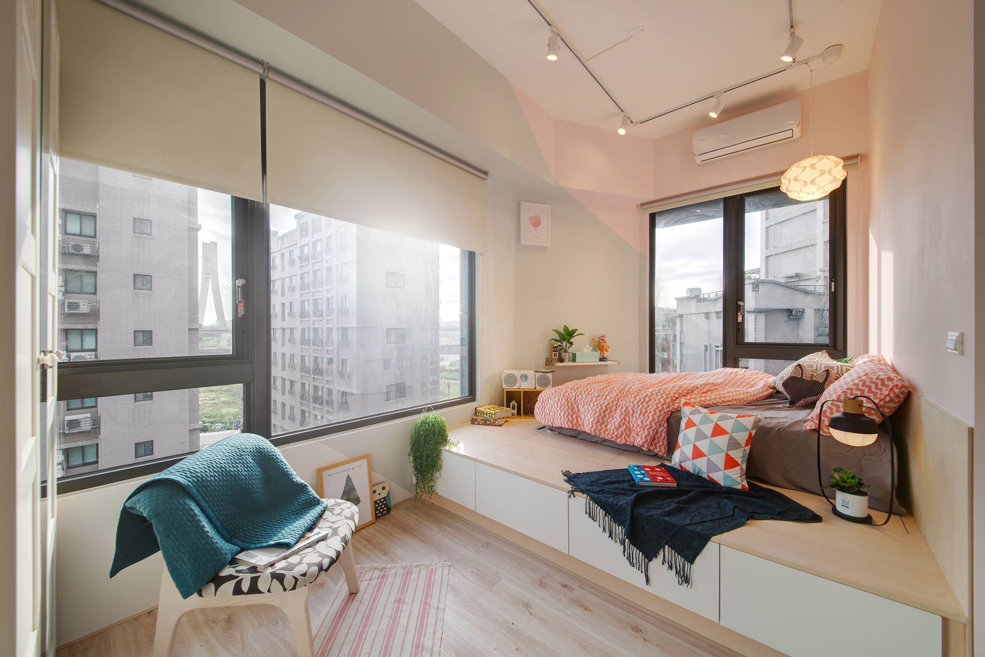 Compact apartment gets efficient, airy makeover in Taiwan - Curbed