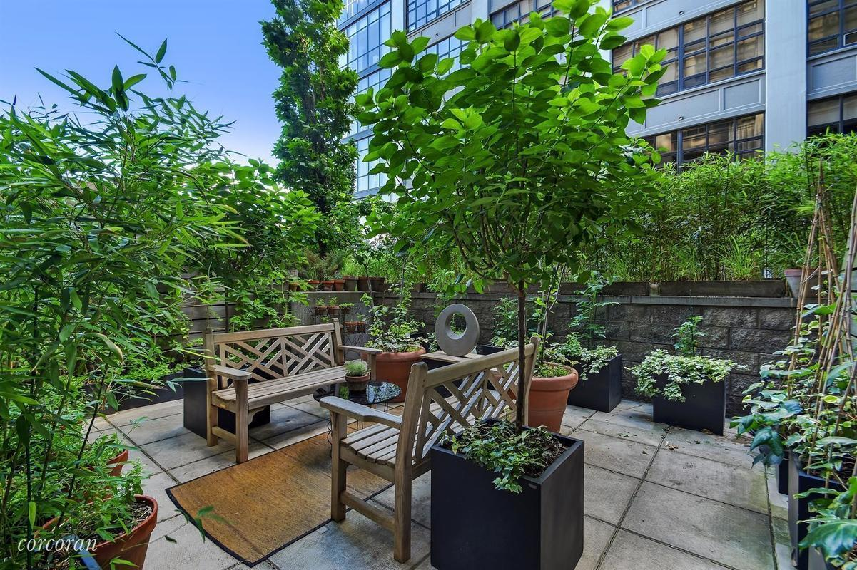 design forward brooklyn heights studio with lush private patio