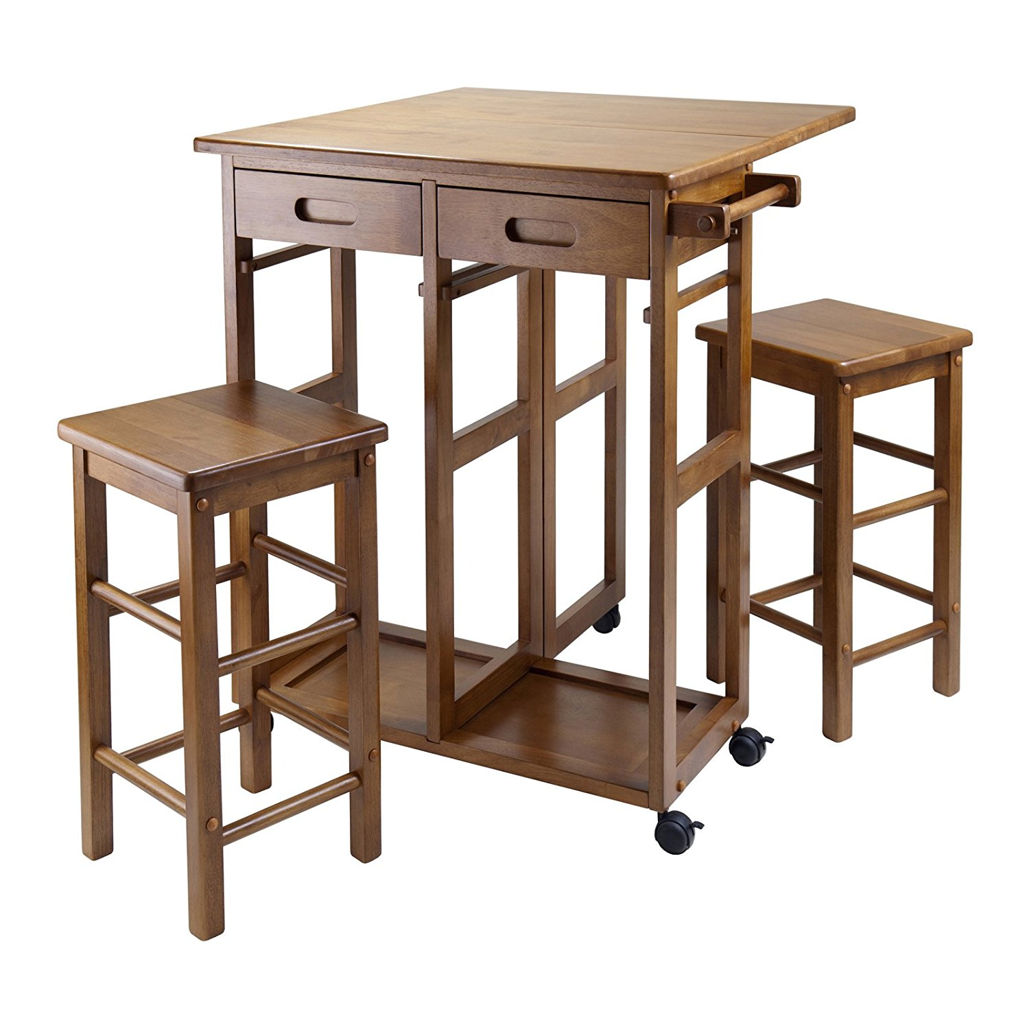 Amazon, Winsome Space Saver 3-pc. Dining Set, $109