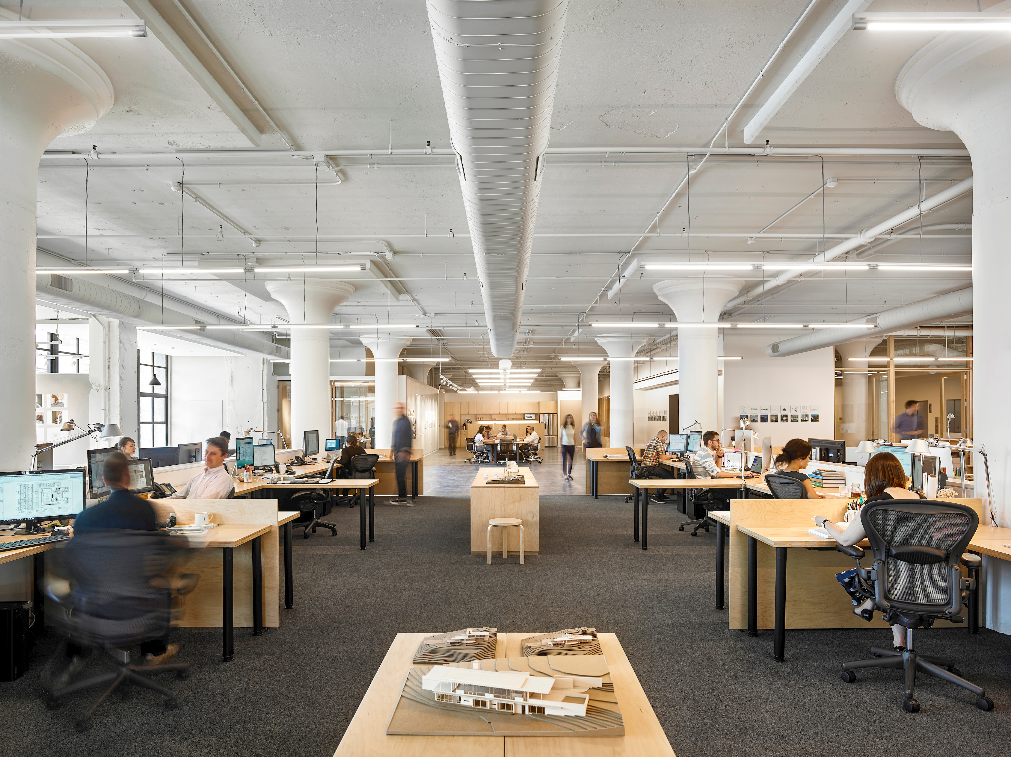 Inside bohlin cywinski jackson s new minimalist office at east market curbed philly Philadelphia interior design firms