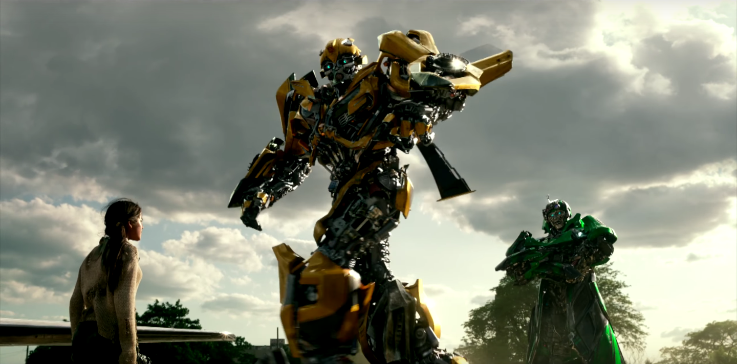 Bumblebee in Transformers: The Last Knight.