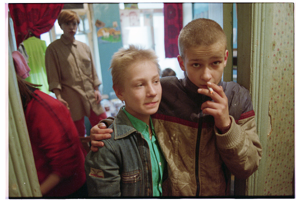 Putin is angry about us sanctions and russian orphans are paying boys at a home for abandoned children 1992 david turnleycorbisvcg via getty images ccuart Gallery