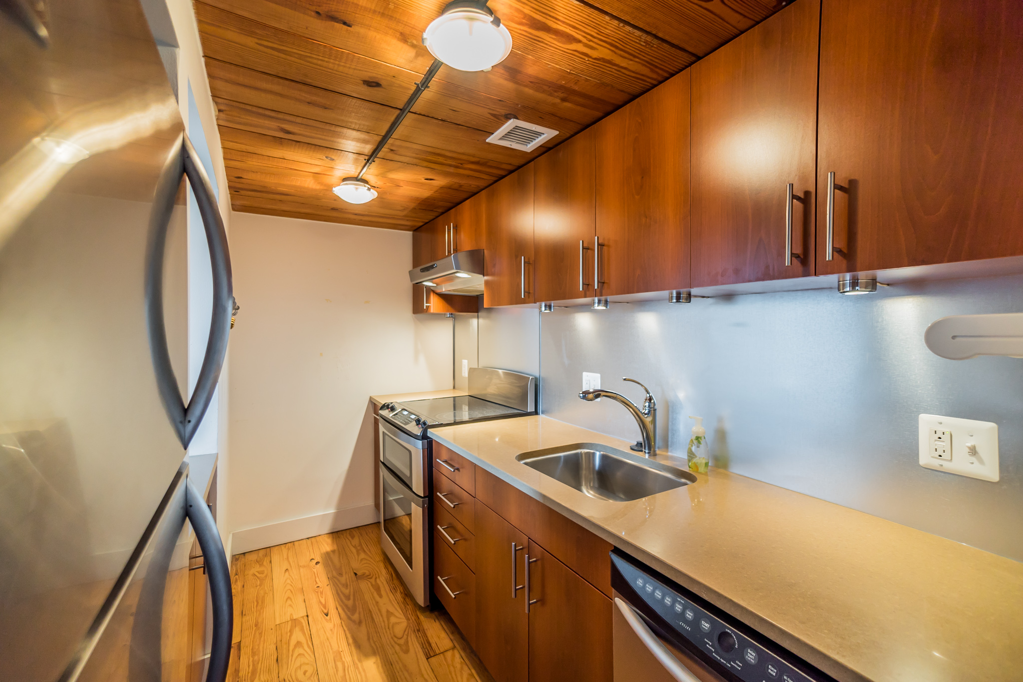 sun drenched old city loft in hoopskirt factory asks 279k