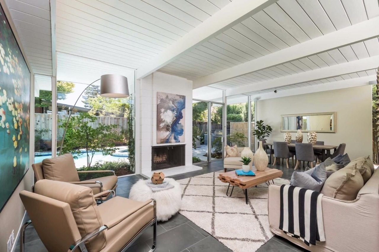 a tale of two eichlers san rafael home asks 1 4 million palo
