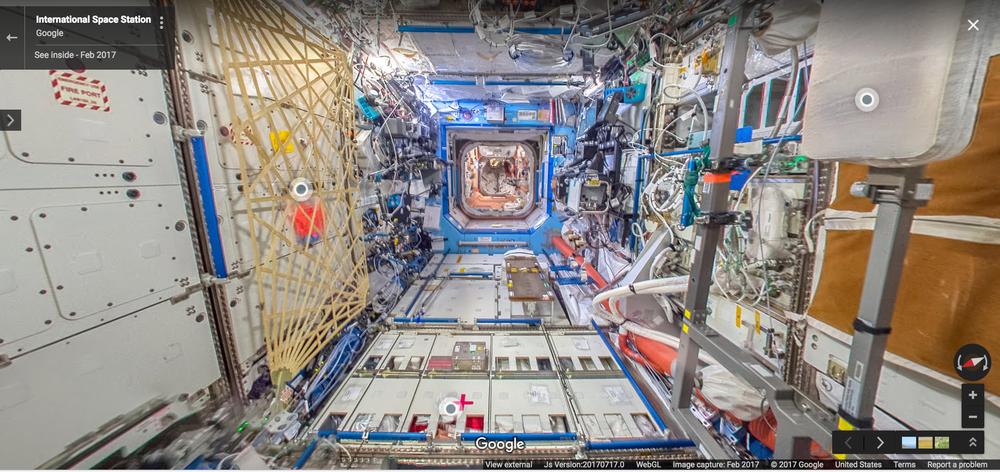 Resultado de imagem para street view ISS