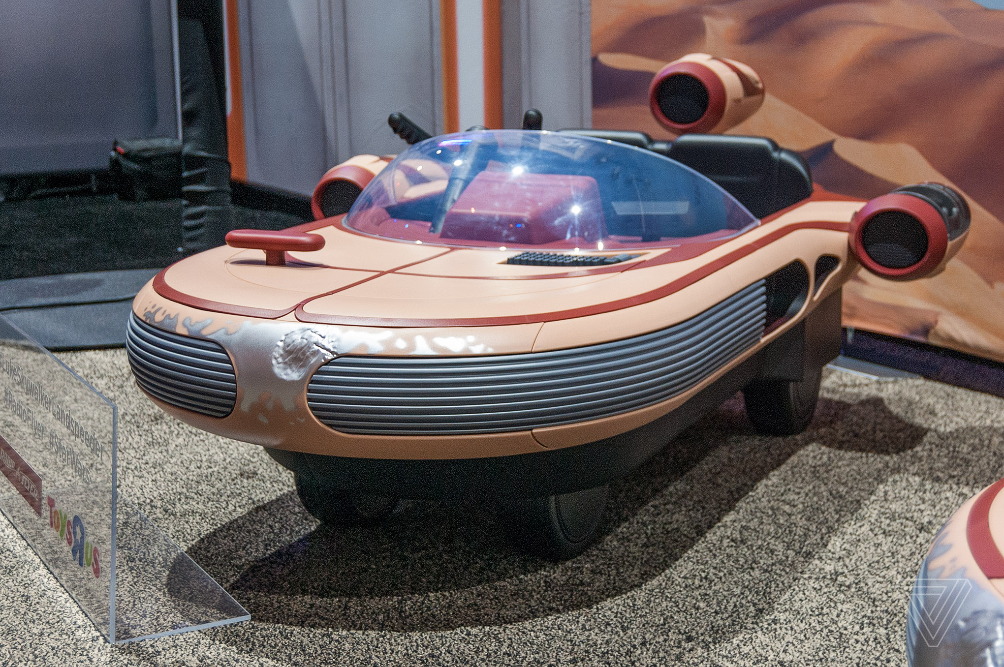Luke Skywalker's Landspeeder brought to life by Radio Flyer