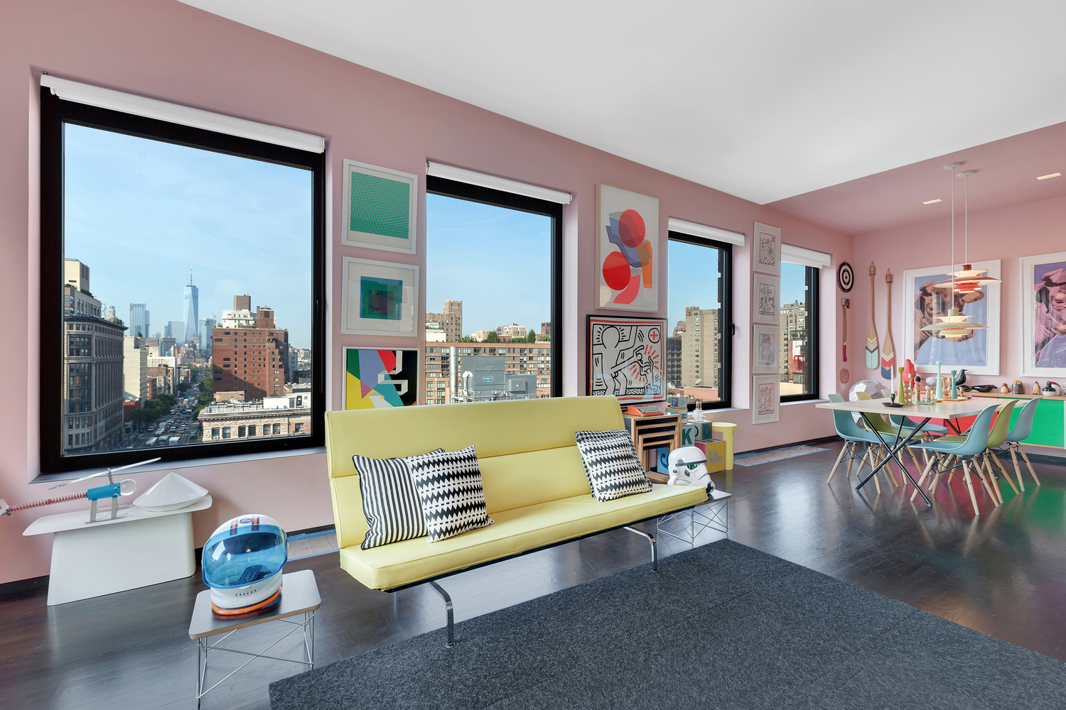 vibrant chelsea co op that u0027s chock full of color wants 2 2m